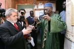 Presidente Lula em Gorée