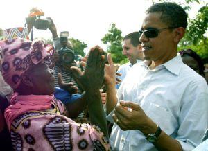 Barack e Sara Obama